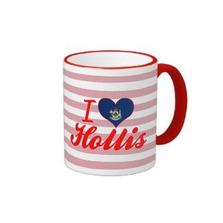 I Love Hollis, Maine Coffee Mug