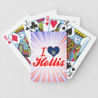 I Love Hollis Maine Playing Cards