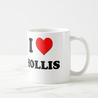 I love Hollis Coffee Mug