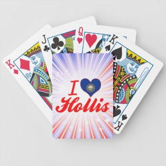 I Love Hollis New Hampshire Bicycle Card Decks