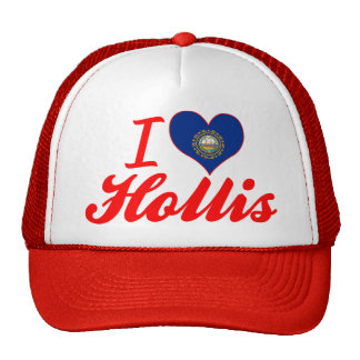 I Love Hollis, New Hampshire Hat