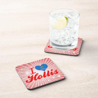 I Love Hollis Oklahoma Coasters