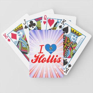 I Love Hollis Oklahoma Deck Of Cards