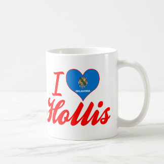 I Love Hollis, Oklahoma Coffee Mugs