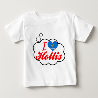 I Love Hollis, Oklahoma Tee Shirt