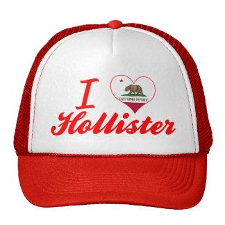I Love Hollister California Mesh Hats