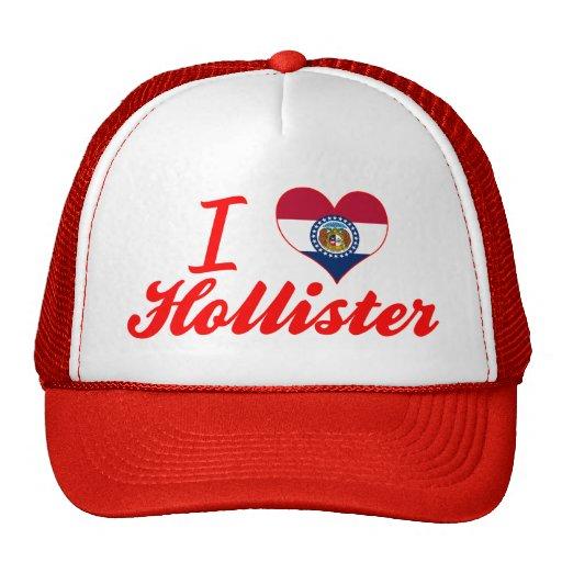 I Love Hollister, Missouri Trucker Hat