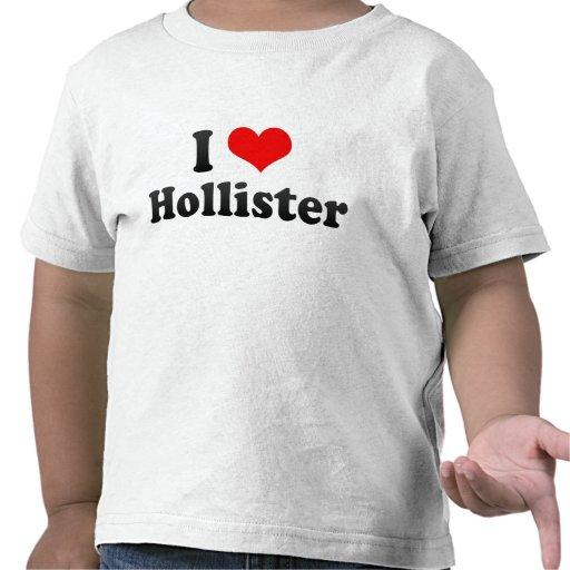 I Love Hollister, United States Shirt
