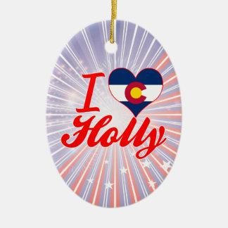 I Love Holly, Colorado Ornaments