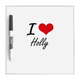 I love Holly Dry-Erase Boards