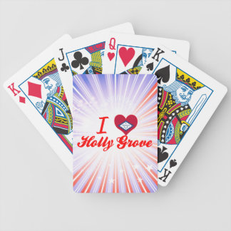 I Love Holly Grove Arkansas Bicycle Poker Deck