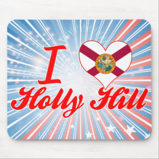 I Love Holly Hill Florida Mousepads