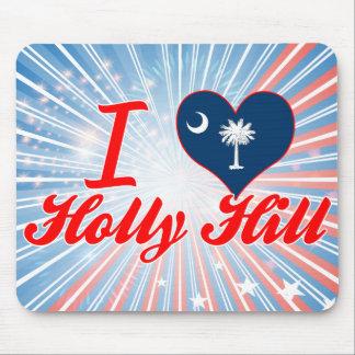 I Love Holly Hill South Carolina Mouse Pad