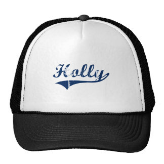 I Love Holly Michigan Mesh Hat