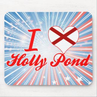 I Love Holly Pond Alabama Mousepads