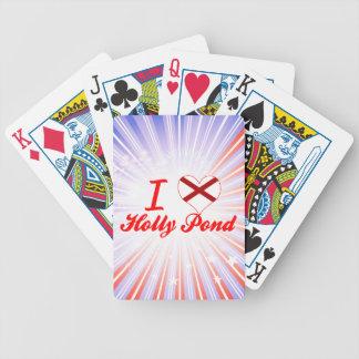 I Love Holly Pond Alabama Poker Deck