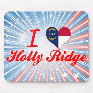 I Love Holly Ridge North Carolina Mousepad