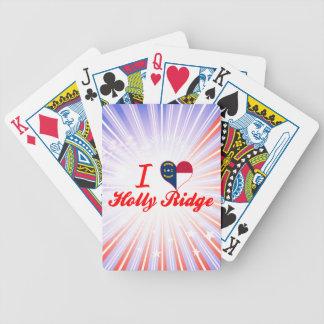 I Love Holly Ridge North Carolina Bicycle Poker Deck