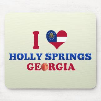 I Love Holly Springs Georgia Mouse Pad