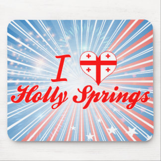 I Love Holly Springs Georgia Mouse Pads