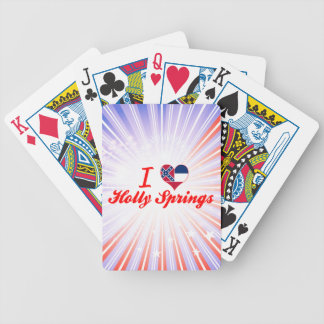 I Love Holly Springs Mississippi Bicycle Poker Cards