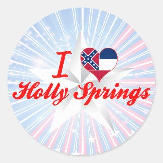 I Love Holly Springs, Mississippi Sticker