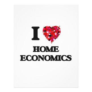 I Love Home Economics 21.5 Cm X 28 Cm Flyer