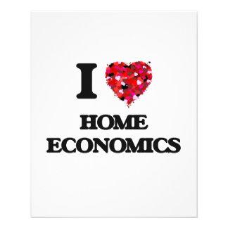I Love Home Economics 11.5 Cm X 14 Cm Flyer