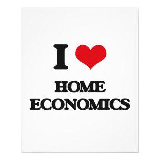 I love Home Economics Flyer