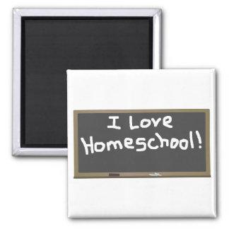 I Love Homeschool Magnets