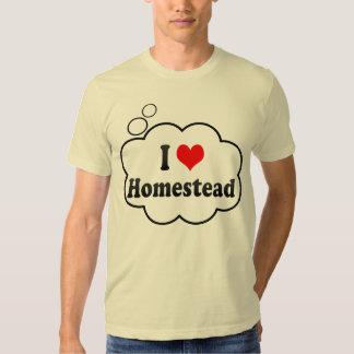 I Love Homestead, United States Tshirts