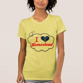 I Love Homestead, Wisconsin Tee Shirt