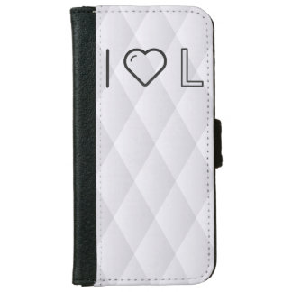 I Love Honduras Currencys iPhone 6 Wallet Case