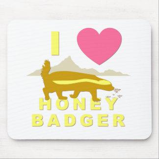 I love honey badger mouse pad