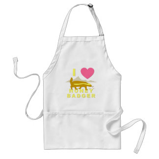 I love honey badger standard apron