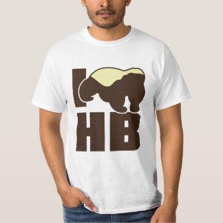i love honey badger white T-Shirt