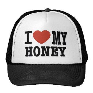 I LOVE HONEY CAP