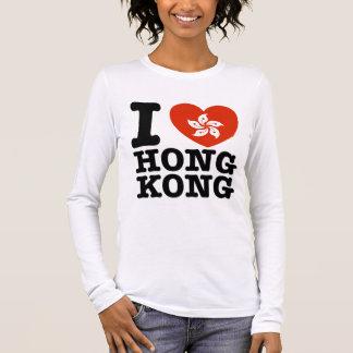 I Love Hong Kong Long Sleeve T-Shirt