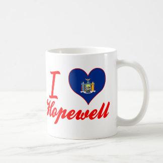 I Love Hopewell, New York Mugs