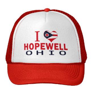 I love Hopewell, Ohio Hat