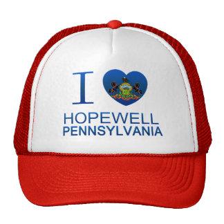 I Love Hopewell, PA Mesh Hats