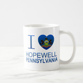 I Love Hopewell, PA Coffee Mug