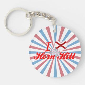 I Love Horn Hill Alabama Acrylic Key Chain