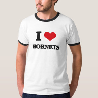 I love Hornets T-shirts