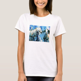 I love Horse painting T-Shirt