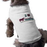 I Love Horse Plus - Pet Garment Sleeveless Dog Shirt