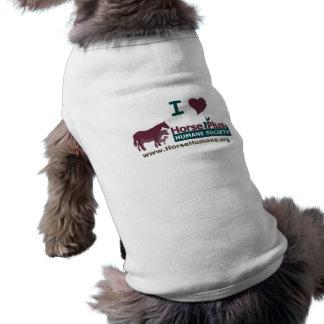 I Love Horse Plus - Pet Garment Shirt