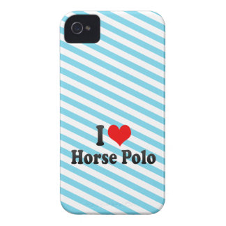 I love Horse Polo iPhone 4 Covers