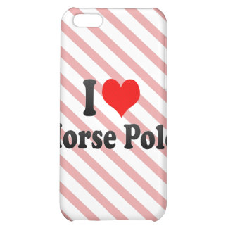 I love Horse Polo iPhone 5C Case