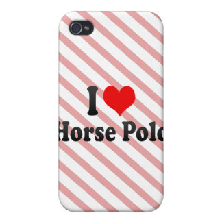 I love Horse Polo iPhone 4/4S Cases